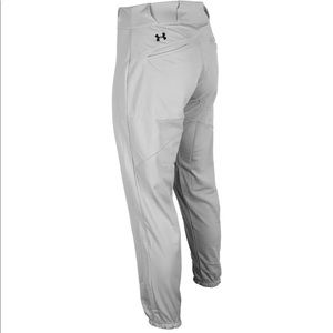 Under Armour Youth Gray Baseball Pants